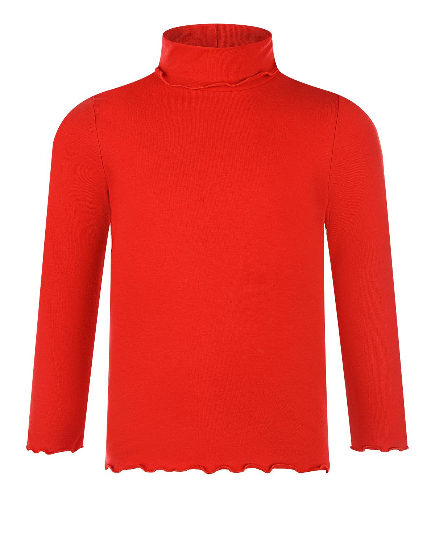 Купить Красная водолазка IL Gufo детская, Красный, 90%хлопок+10%эластан