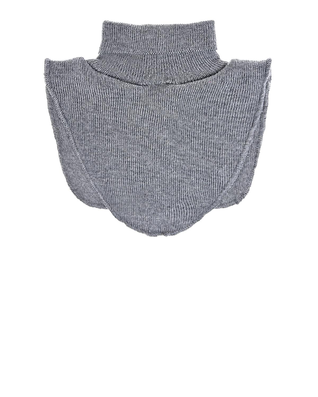 Купить Светло-серый шарф-горло из шерсти MaxiMo детское, Серый, 100% шерсть