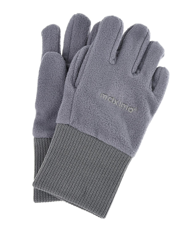 Купить Базовые перчатки для мальчиков MaxiMo детские, Серый, 100% полиэстер