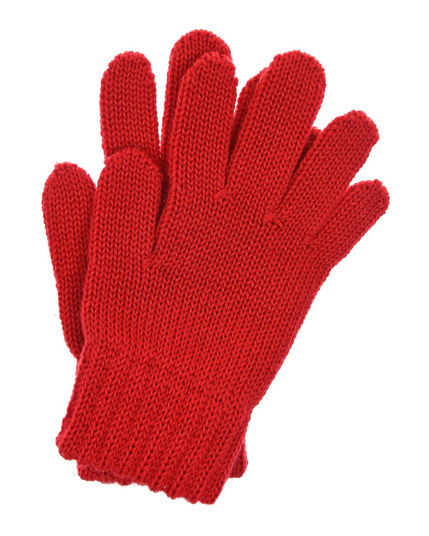 Купить Красные перчатки из шерсти MaxiMo детские, Красный, 100% шерсть