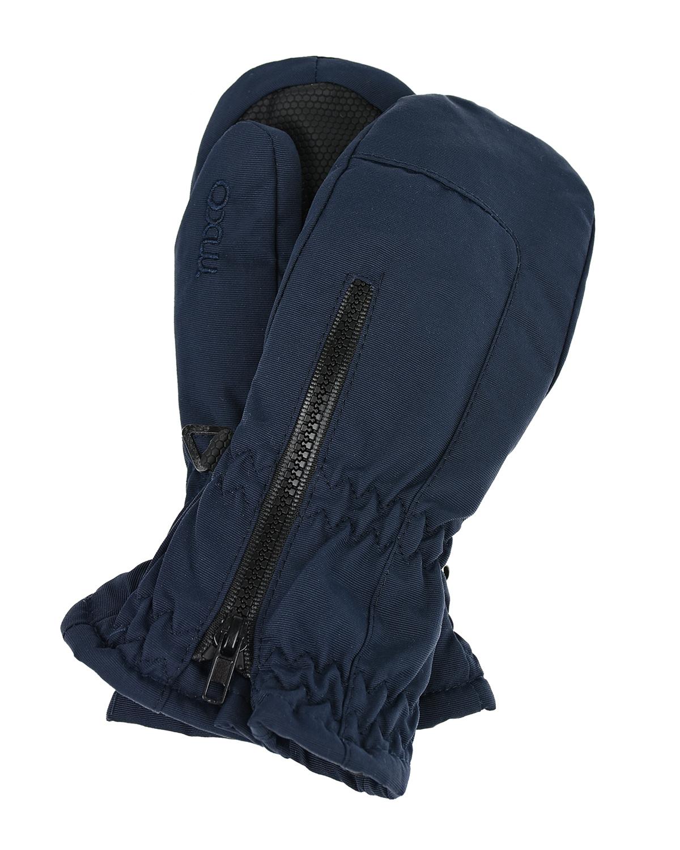 Купить Непромокаемые варежки синего цвета MaxiMo детские, Синий, 100% полиамид, 100% полиэстер
