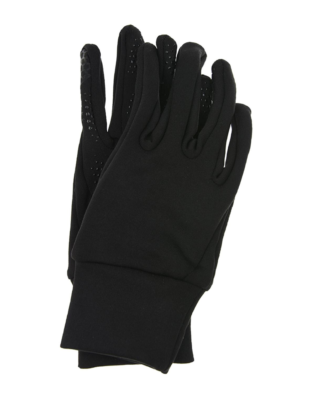 Купить Черные перчатки с защитным слоем MaxiMo детские, Черный, 100% полиэстер