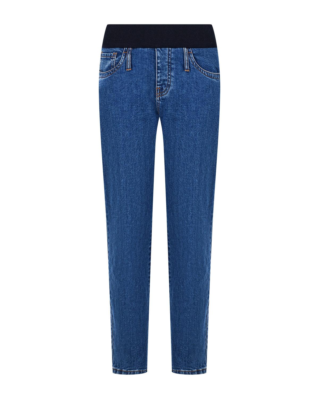 Купить Синие джинсы для беременных Pietro Brunelli, Синий, 98%хлопок+2%эластан