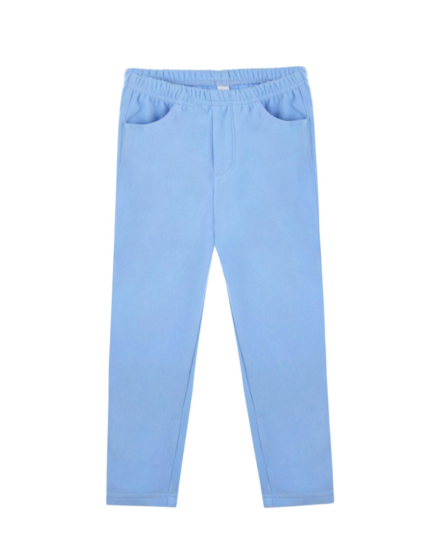 Купить Голубые флисовые брюки Poivre Blanc детские, Голубой, 100%полиэстер
