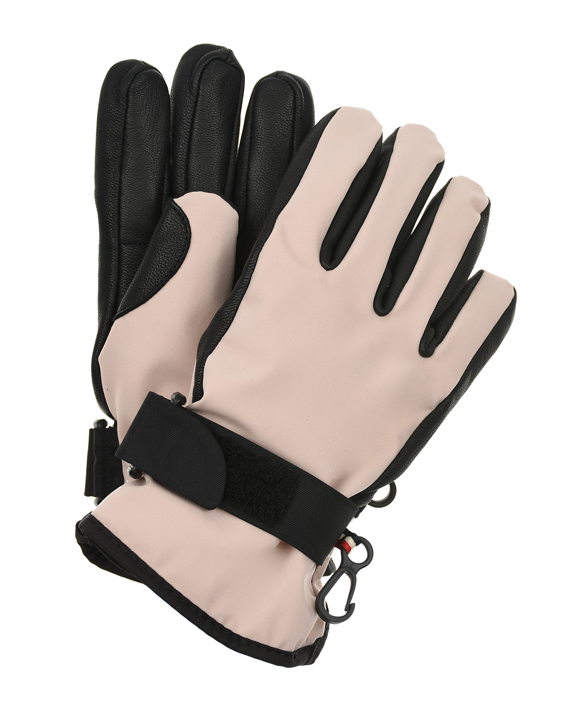 кожаные перчатки moncler для девочки