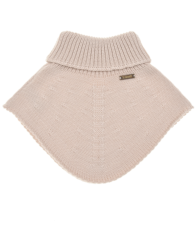 шерстяные шарф il trenino для девочки