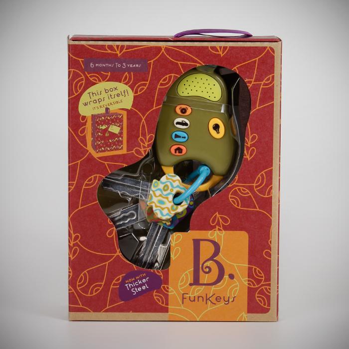Игрушка Battat Ключи от машины Fun KeysРазвивающие игрушки<br><br>