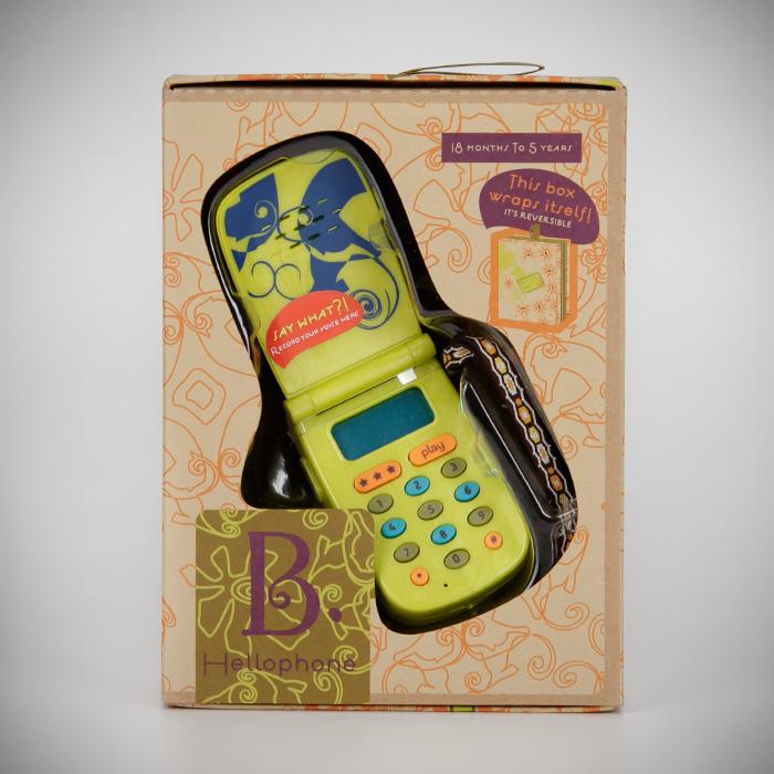 Игрушка Battat мобильный телефонРазвивающие игрушки<br><br>