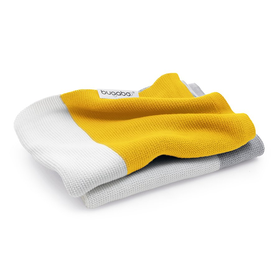 Плед Bugaboo Light Cotton Blanket bright yellow multiПледы<br><br>