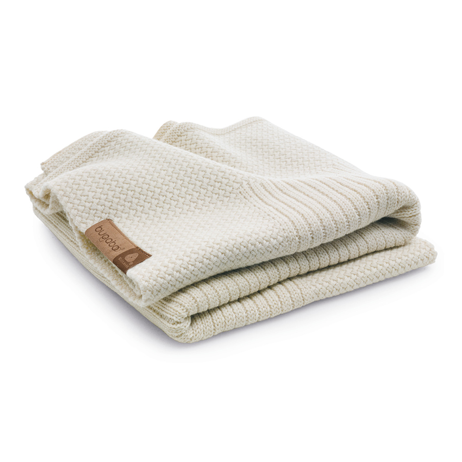 Плед Bugaboo Soft Wool Blanket off white melange
