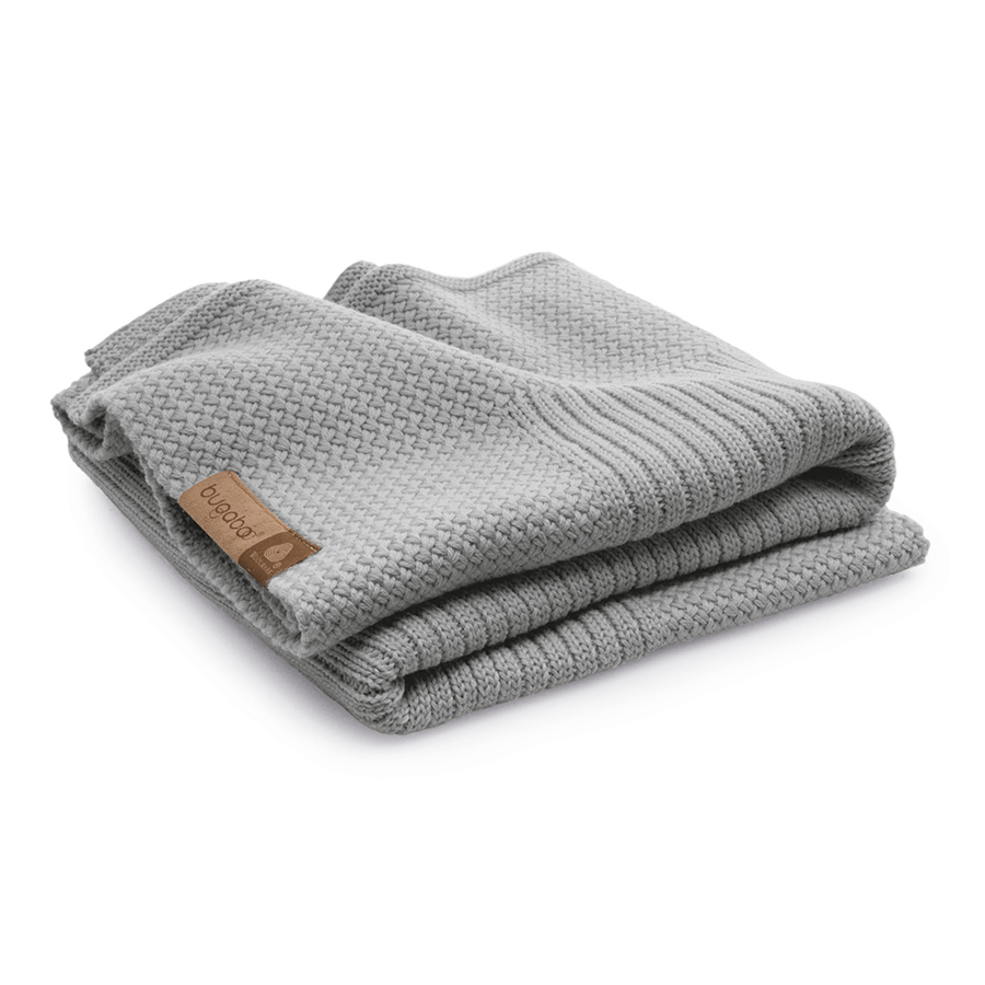 Плед Bugaboo Soft Wool Blanket light grey melange