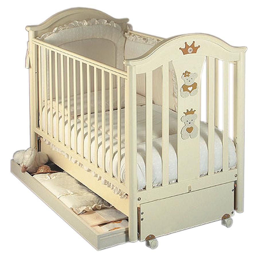 Кровать коллекция Capriccio (цвет слоновая кость)Кровати для новорождённых<br><br>
