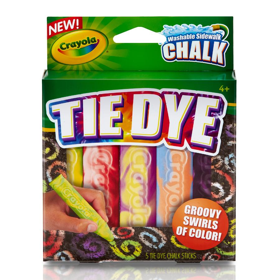 Мелки Crayola 5 цв.для асфальта