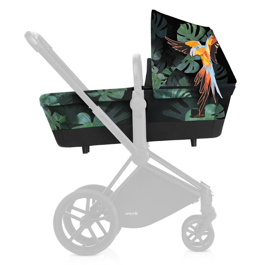 Люлька Cybex Priam для коляски Birds of ParadiseКоляски для новорожденных<br><br>