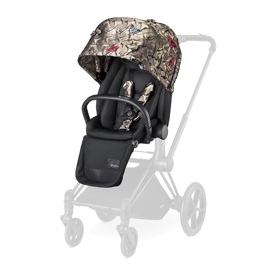 Прогулочный блок Cybex Priam ButterflyКоляски 2 в 1<br><br>