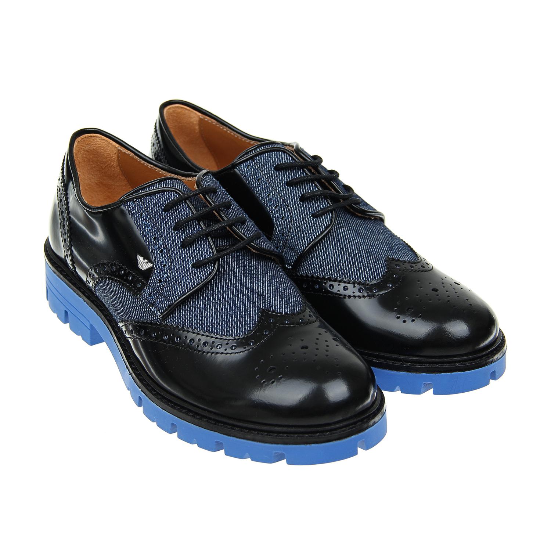 Ботинки низкие Armani для мальчиковОбувь<br><br>