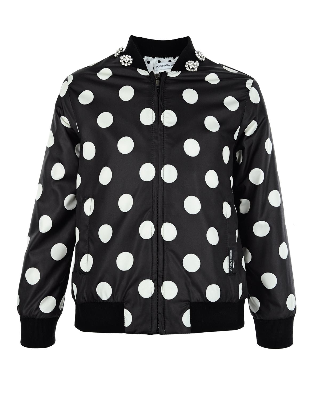 Куртка-бомбер Dolce&Gabbana для девочек