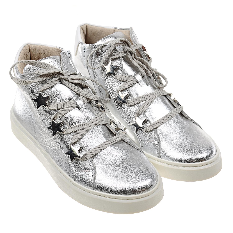 Купить Высокие кеды на шнуровке и молнии, 3.0