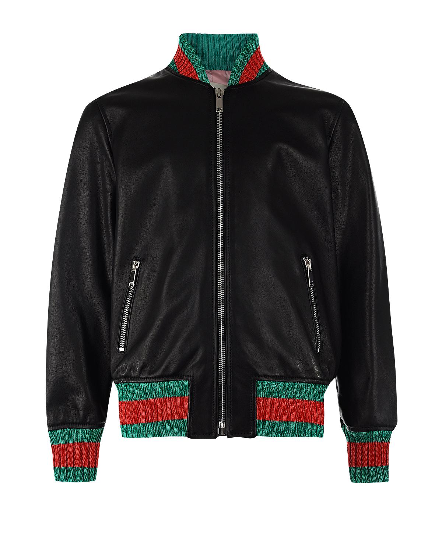 Куртка кожаная GucciКуртки демисезонные<br><br>
