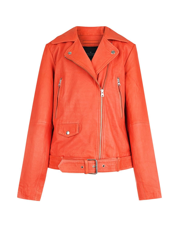Купить со скидкой Кожаная куртка с косой молнией Little Remix