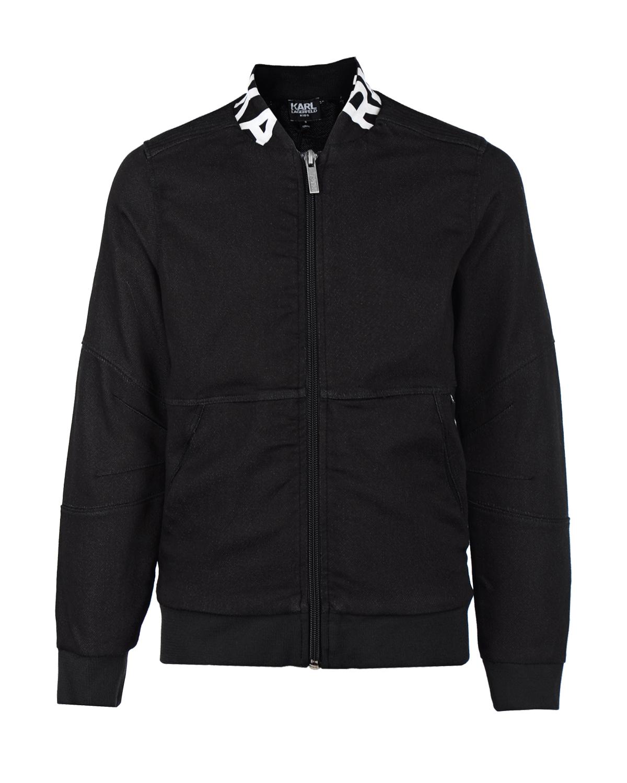 Куртка-бомбер Karl Lagerfeld kidsКуртки демисезонные<br>