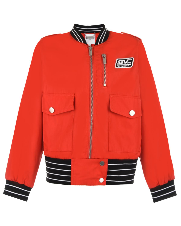 Куртка-бомбер Givenchy детская фото