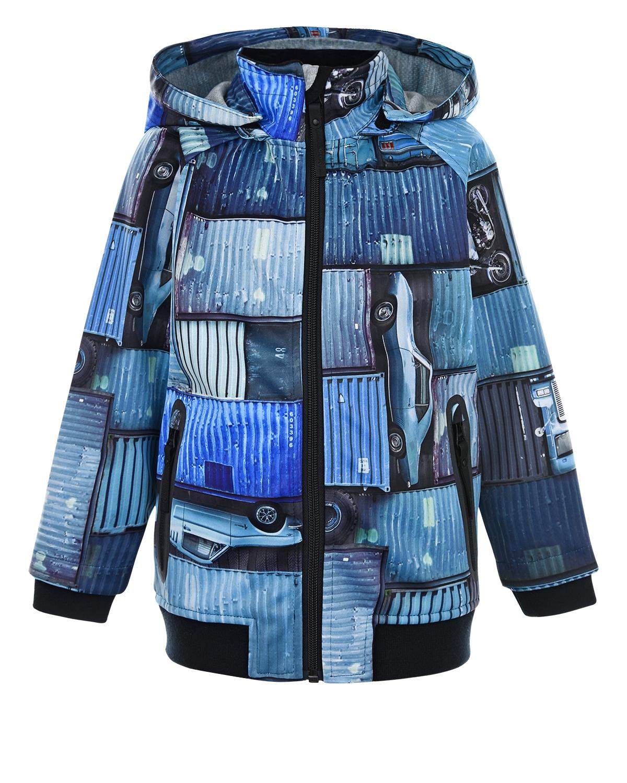 Куртка Cloudy Blue Containers Molo детская фото