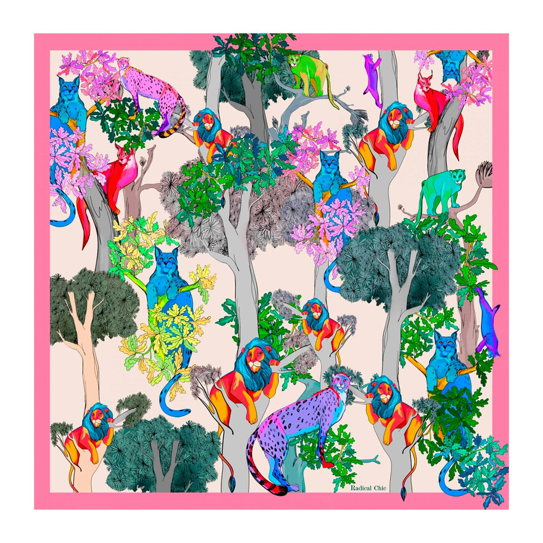Платок Jungle by day Radical Chic фото