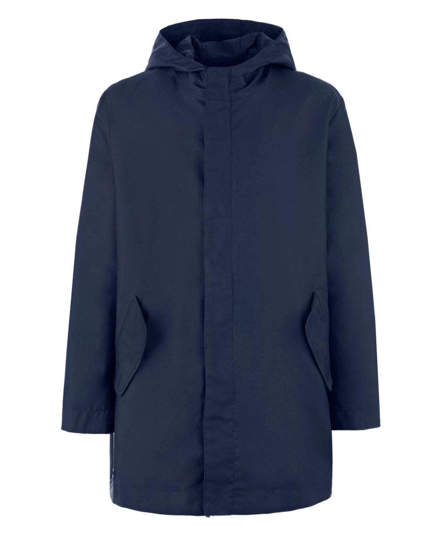 Однотонная куртка на молнии и кнопках Dior детская фото