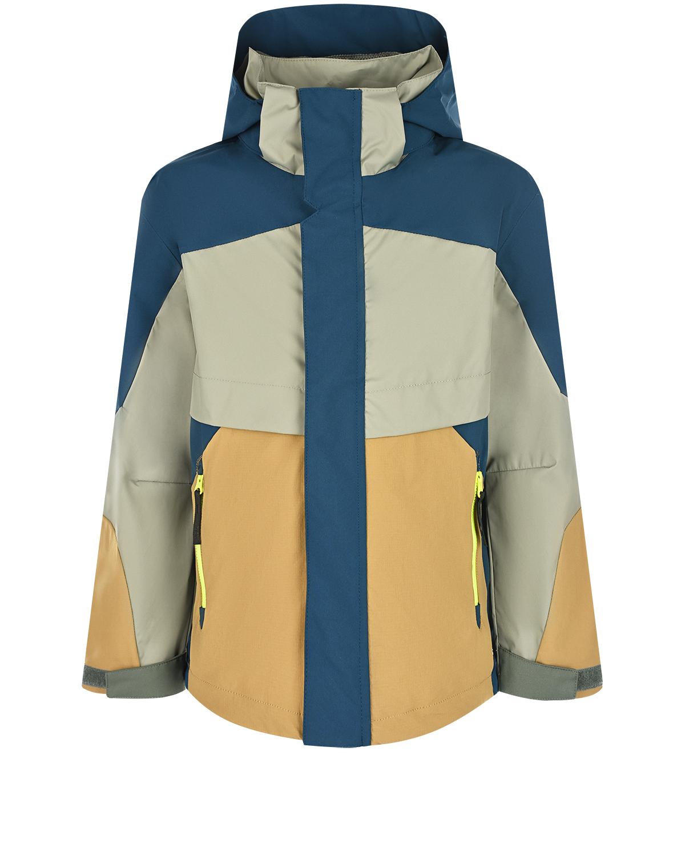 Купить Куртка на молнии Hakon Moonlit Ocean Molo детская, Мультиколор, 100% полиэстер, 100%полиэстер