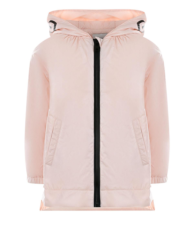 Куртка с капюшоном и контрастной молнией Givenchy детская фото