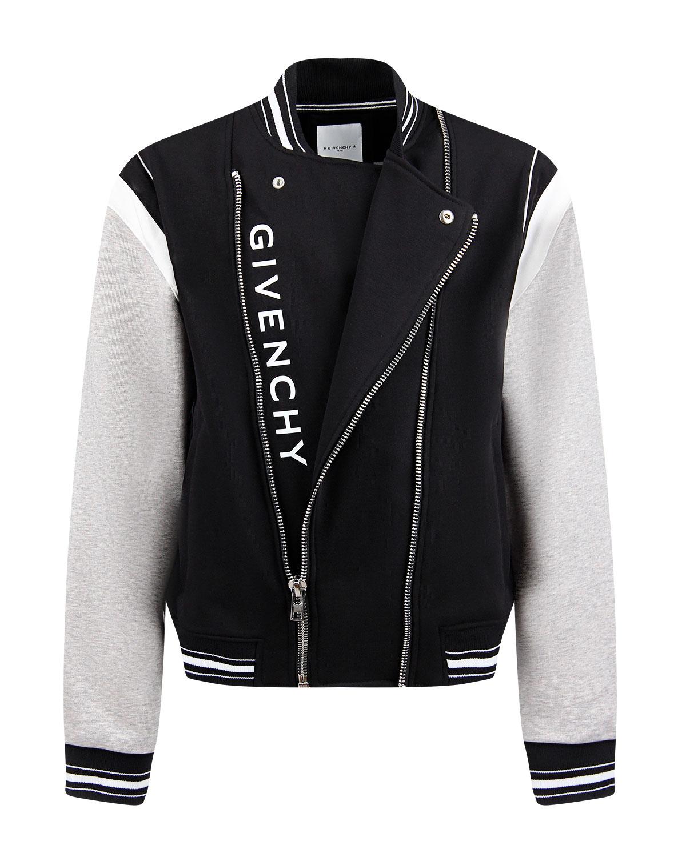 Куртка-бомбер на молнии Givenchy детская фото