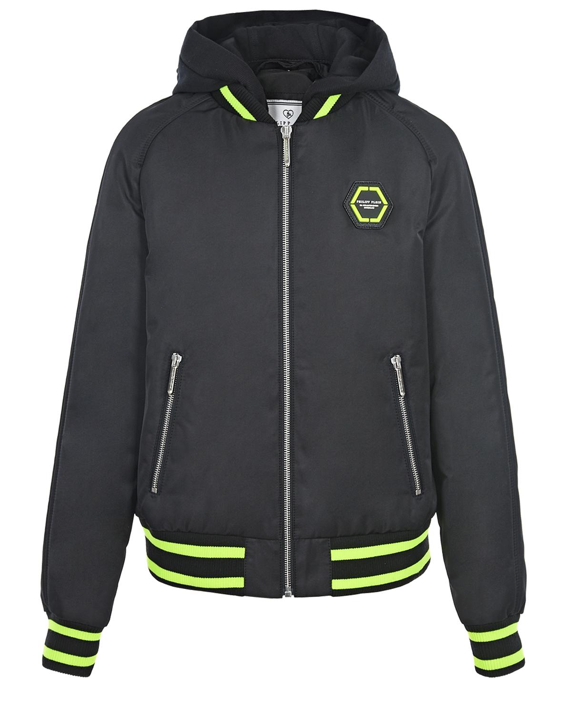 куртка бомбер philipp plein для мальчика