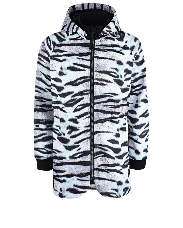 Купить Непромокаемая куртка Hillary Tiger White Molo детская, Мультиколор, 100%полиэстер