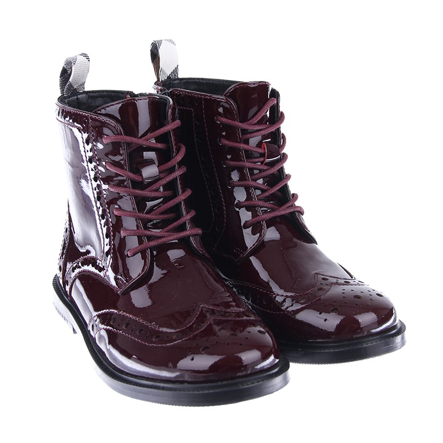 Ботинки Burberry для девочек