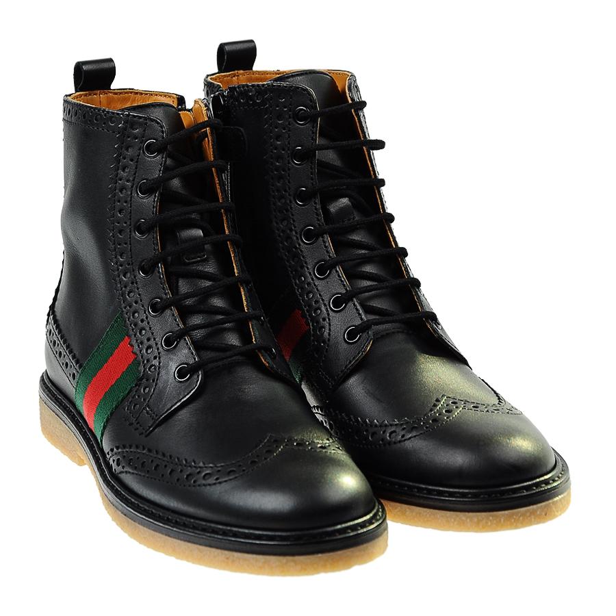 Ботинки Gucci для девочекБотинки, сапоги демисезонные<br><br>