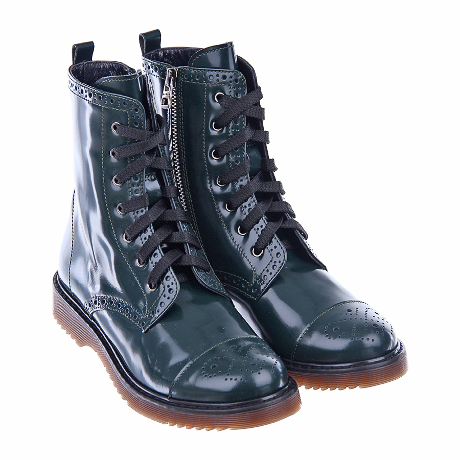Ботинки Marni для девочекБотинки, сапоги демисезонные<br><br>