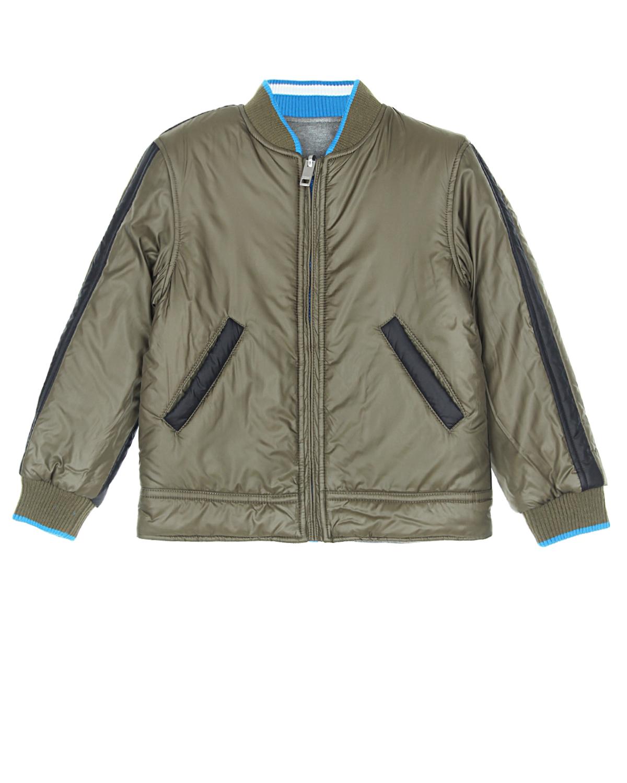 Куртка-бомбер Diesel для мальчиковВерхняя одежда<br><br>