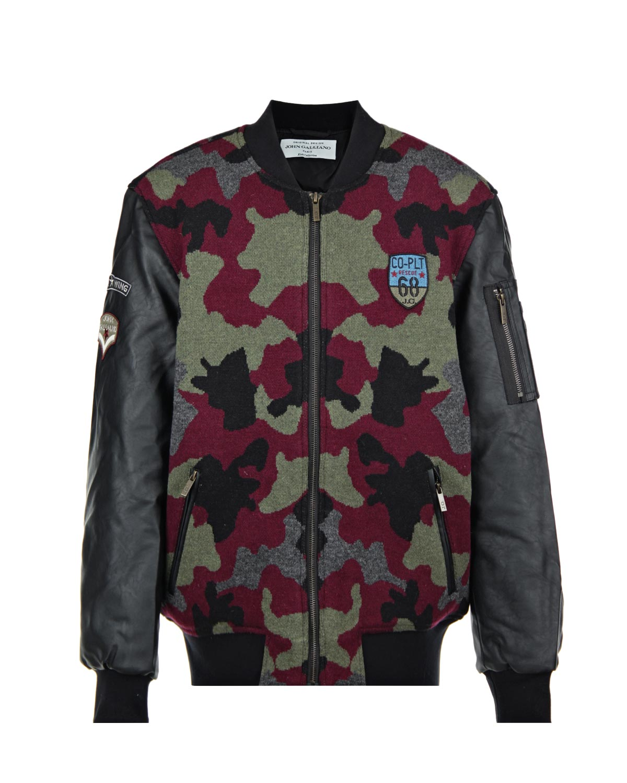 Куртка-бомбер John Galliano