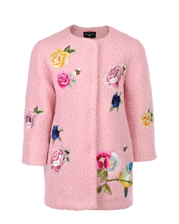 Пальто MonnaLisa Chic для девочекПальто<br><br>