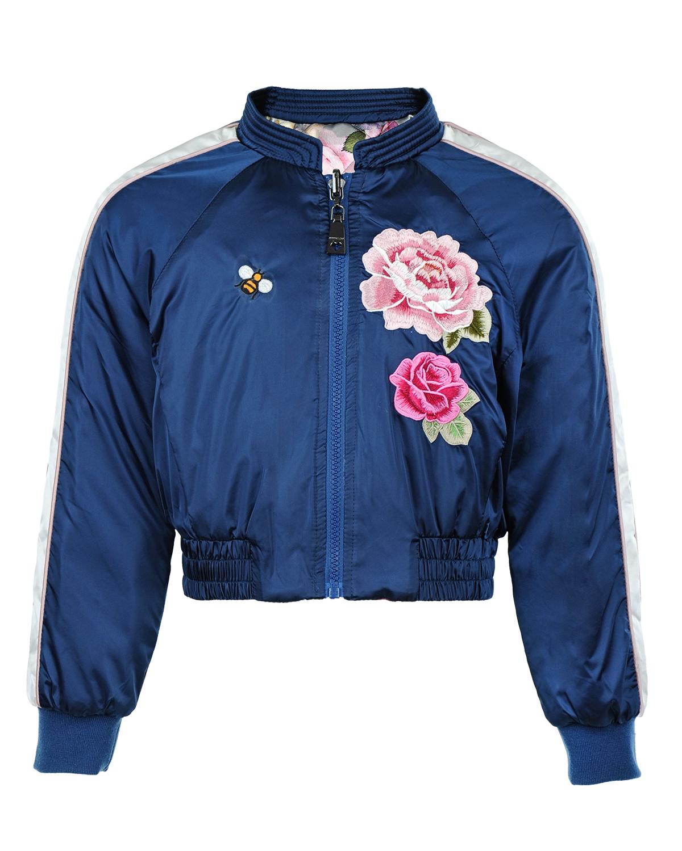 Куртка MonnaLisa Chic для девочекКуртки демисезонные<br><br>