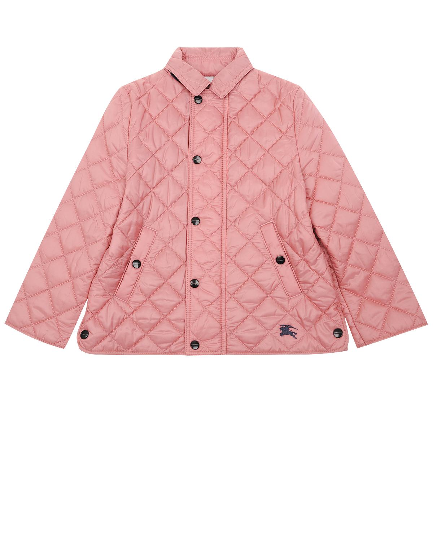 Купить Куртка Burberry детская, Розовый, 100%полиэстер