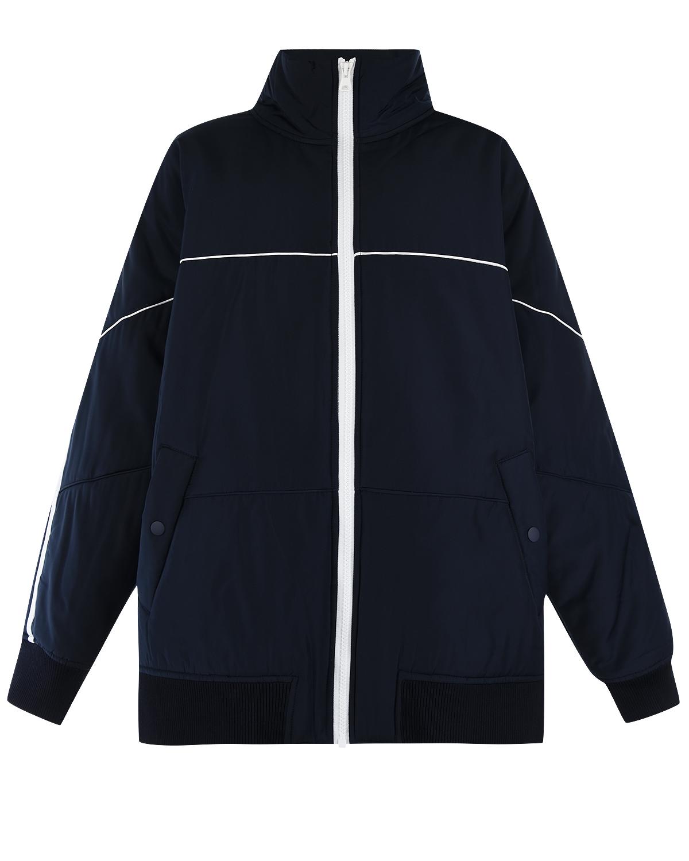 Купить Куртка с контрастной отделкой Little Remix детская, Синий, 100%полиэстер