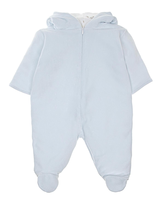 Купить Комбинезон с синтепоновым утеплителем Lyda Baby детский, Голубой, 80%хлопок+20%полиэстер