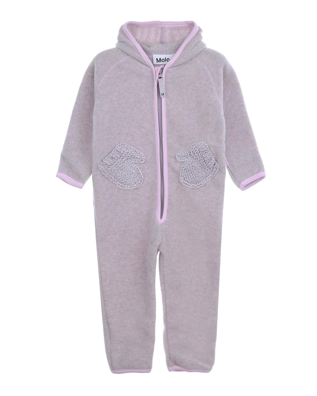 Купить Комбинезон с двекорированными карманами Molo детский, Розовый, 100%полиэстер