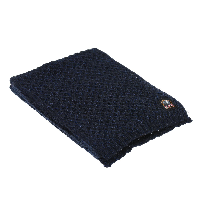 Синий вязаный шарф Parajumpers.