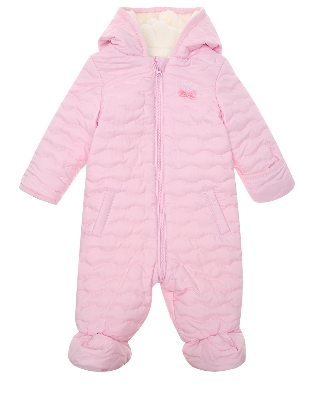Купить Синтепоновый комбинезон Sanetta fiftyseven детский, Розовый, 100%полиэстер