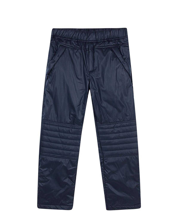 Купить Утепленные брюки с карманами Aletta детские, Синий, 100%полиэстер, 100%хлопок