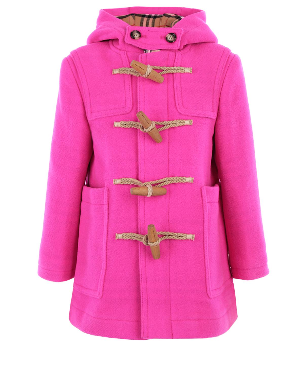 Розовый дафлкот Burberry