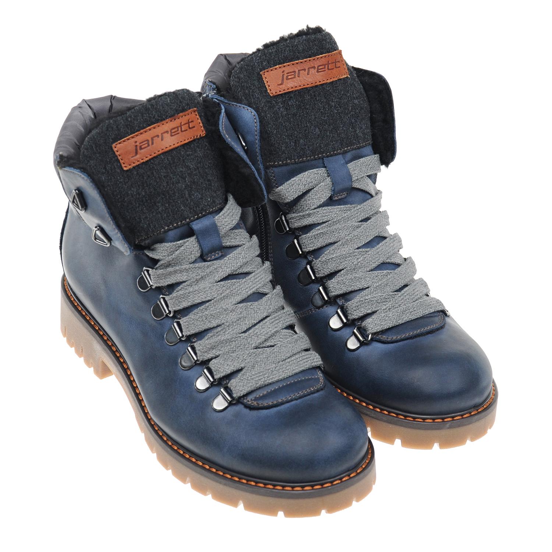 Купить со скидкой Ботинки из кожи на каблуке